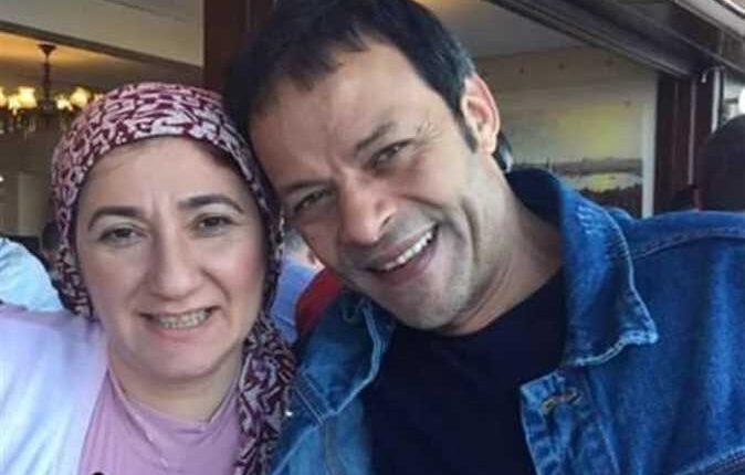ناشطة مصرية وزوجها الممثل السابق هشام عبد الله