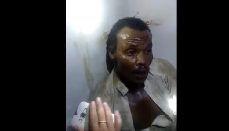 من الأرشيف لحظة القبض على ساحر في صنعاء
