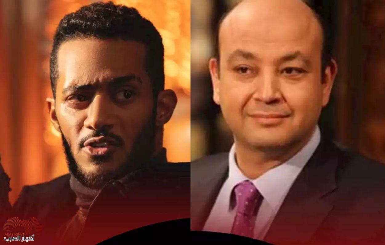 عمرو أديب ومحمد رمضان ومعركة مستمرة