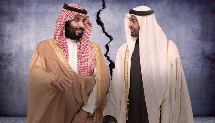 إنفجار العلاقات بين السعودية والإمارات