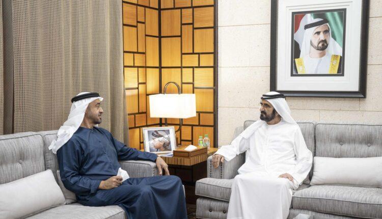 بن زايد وبن راشد في دبي للرد على السعودية