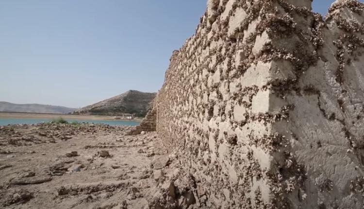قرية عراقية غارقة منذ 36 عاما