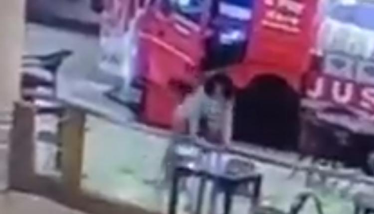 لحظة انتحار فتاة مصرية